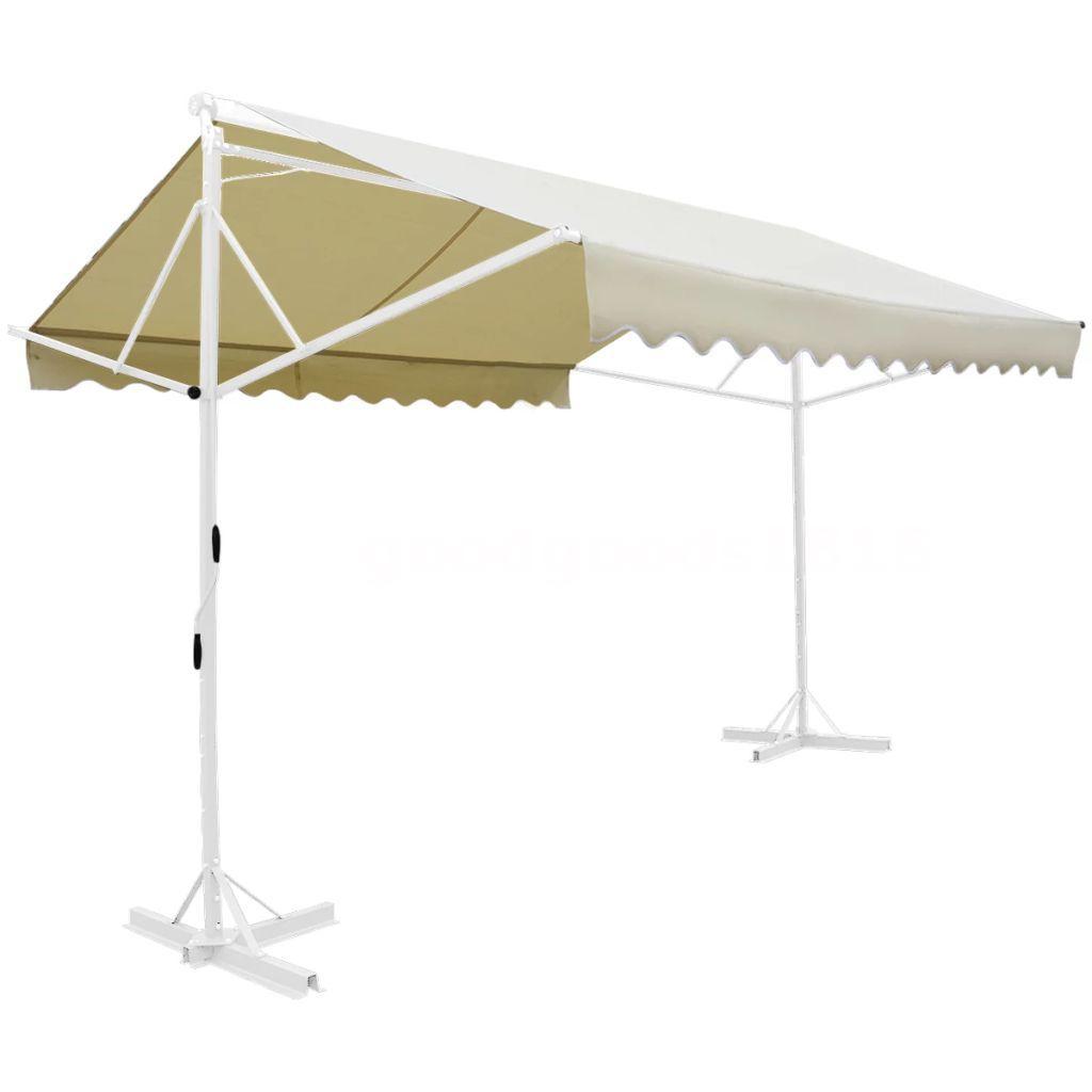 freistehende markise stand sonnenmarkise sonnenschutz garten terrasse 3x3 m p7k1 ebay. Black Bedroom Furniture Sets. Home Design Ideas